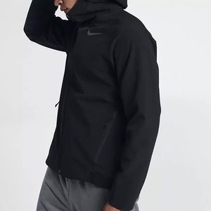 NIKE THERMA SPHERE MAX Black Jacket Hoodie $250 NWT
